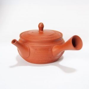 pine skin red clay tokoname kyusu