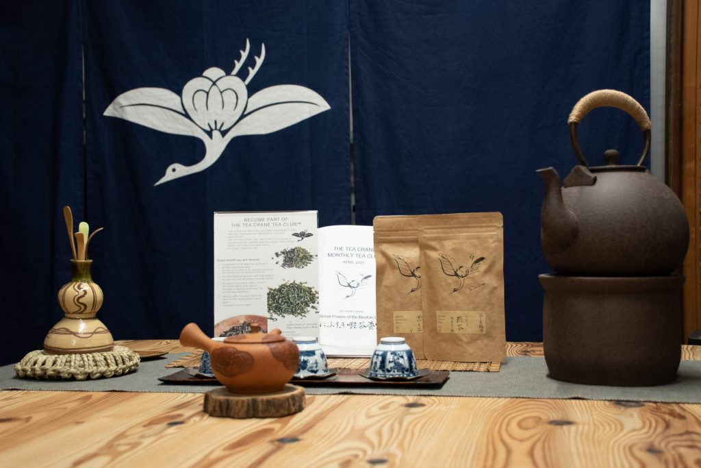 Japanese tea subscription Tea club